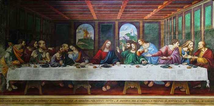 Allievo di Leonardo (1550), Chiesa di Sant'Abrogio, Ponte Capriasca (Svizzera)