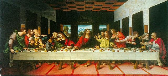 Ultima Cena di Cesare Magni (1520), Pinacoteca ti Brera